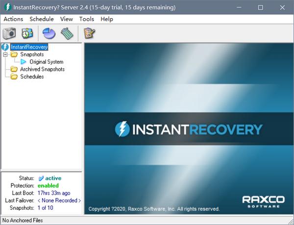 InstantRecovery(系统快照软件)