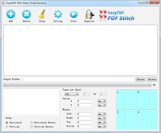 VeryPDF PDF Stitcher(PDF合并工具)