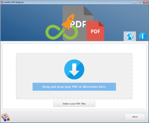 Jsoft.fr PDF Reducer(PDF压缩工具)