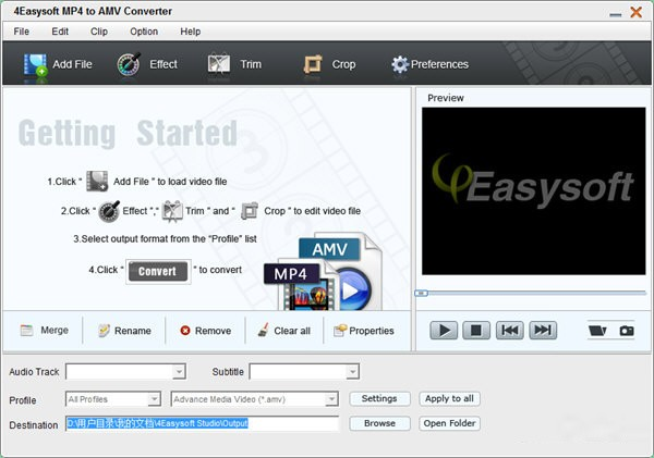 4Easysoft MP4 to AMV Converter(多功能视频转换器)