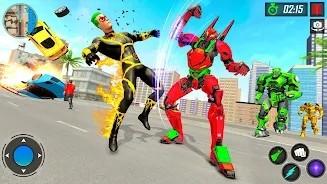 机器人VS超级英雄格斗(图3)