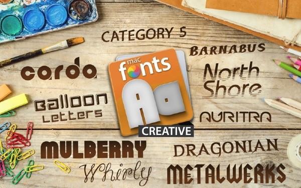 macFonts Creative for Mac-macFonts Creative Mac版下载 V10.6