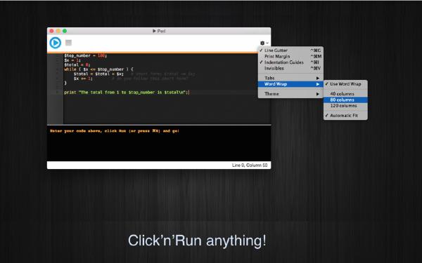 Run Perl Mac版