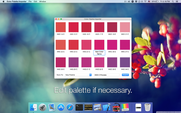 Color Palette Converter Mac版