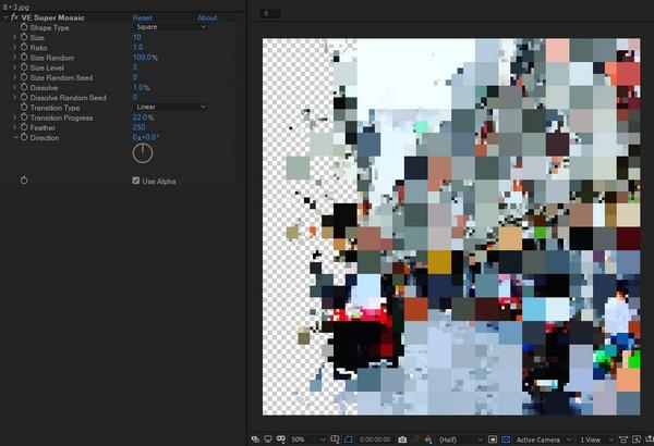 VE Super Mosaic(AE�R�克插件)