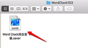 Word Clock Mac版