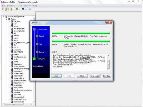AccessToFile(数据库转换工具)