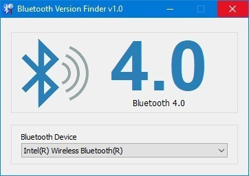 Bluetooth Version finder(藍牙版本查找器)