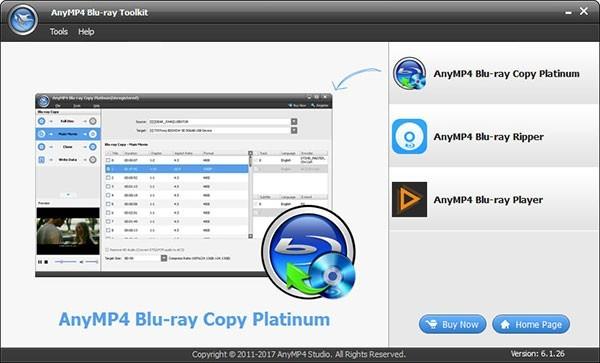 AnyMP4 Blu-ray Toolkit(蓝光工具箱)