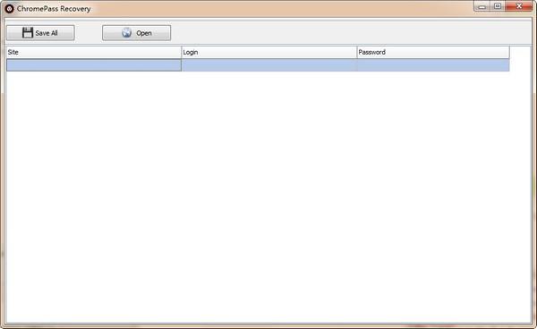 ChromePass recovery(密码恢复软件)