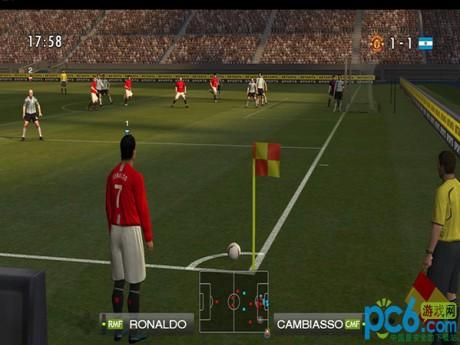 实况足球2008 实况足球2008中文版下载 解说版 pc6下载图片